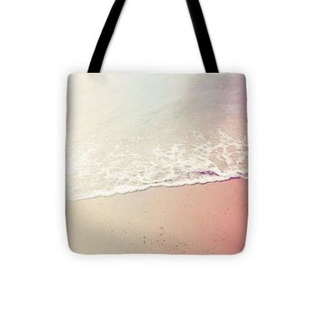 Ocean Air, Salty Hair, Watercolor Art By Adam Asar - Asar Studios - Tote Bag
