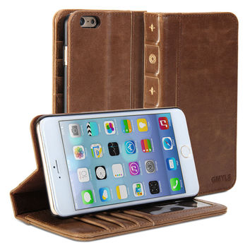 Book Case Vintage for iPhone 6 Plus - iPhone 6 Plus