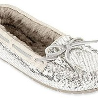Arizona Morgan Sequin Moccasins Black