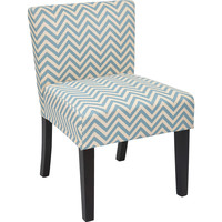 Bristol Desk Chair, Ziggy Mist Fabric