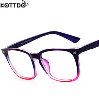KOTTDO Fashion New Reading Eyeglasses Men Women Brand Designer Eye Glasses Spectacle Frame Optical Computer Eyewear Oculos