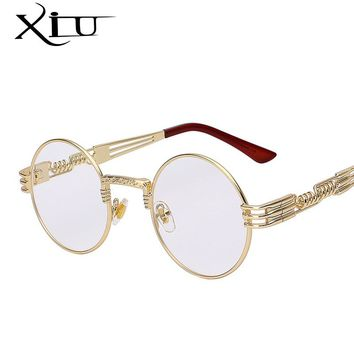 Rounded Sunglasses UV400