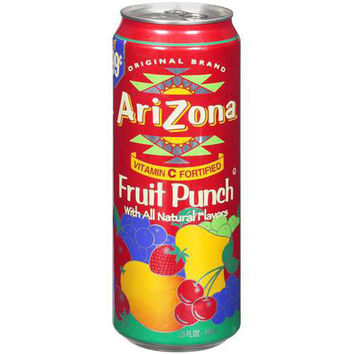 Arizona Tea Fruit Punch 23 Oz Big Cans Pack of 24