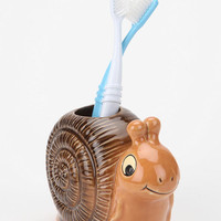 Snail Toothbrush Holder