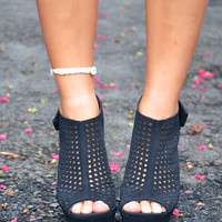 Dreamer wedge, black