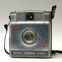 Vintage Kodak Brownie Fiesta 127 film Camera  by CanemahStudios