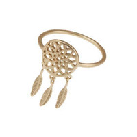 Dream catcher Ring - Gold
