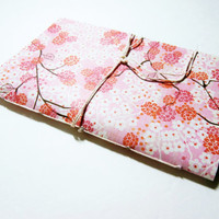 Flower Notebook | Cherry Blossoms | Lined Notebook | Personal Diary | Pretty Notebook | Cute Notebook | Ruled | Writing Notebook