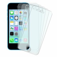 5PCS Screen Protectors for Apple iPhone 5 5S 5C SE iphon 4 4S Protective Film Cover HD Clear Protection Mobile Phone Accessories
