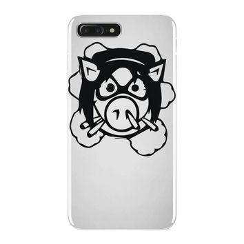 pig wheels angry iPhone 7 Plus Case