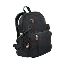 Vintage Canvas Compact Backpack