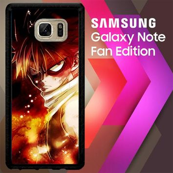 Fairy Tail Natsu Dragneel Z0174 Samsung Galaxy Note FE Fan Edition Case