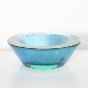 Murano Bowl - Sommerso - Cenedese