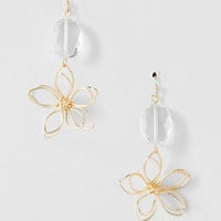 KAYLYN FLORAL DROP EARRINGS