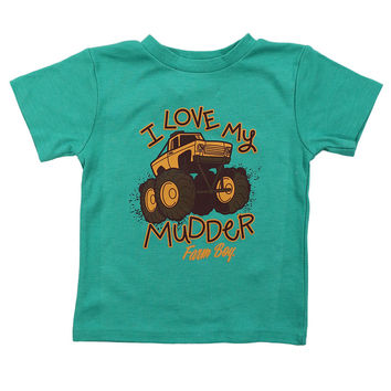 Farm Boy Toddler's I Love My Mudder T-Shirt