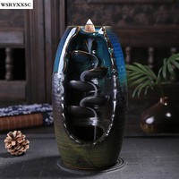 Open Vase - Backflow Incense Burner