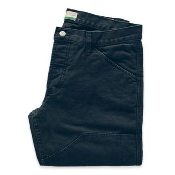 The Chore Pant in Washed Navy