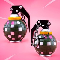 Fortnite Boogie Bomb Grenades Keychain