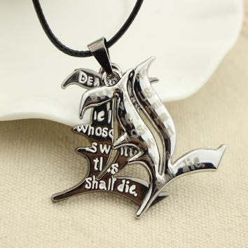 Death Note Double L Anime Necklace