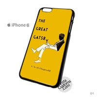 Book Cover Art Great Gatsby Phone Case For Apple,  iphone 4, 4S, 5, 5S, 5C, 6, 6 +, iPod, 4 / 5, iPad 3 / 4 / 5, Samsung, Galaxy, S3, S4, S5, S6, Note, HTC, HTC One, HTC One X, BlackBerry, Z10
