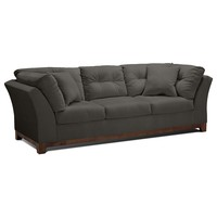 Solace Gray Upholstery Sofa - Value City Furniture