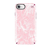 Speck Presidio INKED Case for iPhone 8/7/6s/6 - Magenta pink/FreshFloral rose