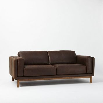 Dekalb Premium Leather Sofa