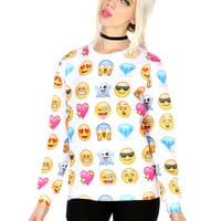 EMOJI FACE SWEATER