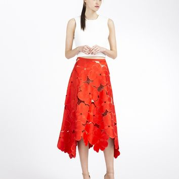 Cupro Skirt - CHERRY ON TOP by VIDA VIDA Sale Great Deals Buy Online Outlet Cheap Fake RNFBK0i