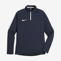 The Nike Dry Big Kids' Soccer Drill Top.