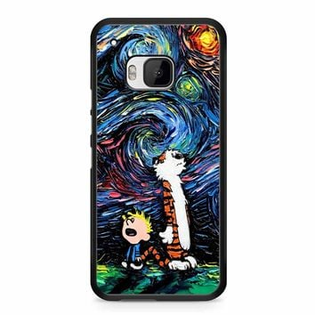 Van Gogh Calvin And Hobbes HTC M9 Case