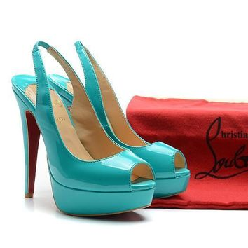 CL Christian Louboutin Fashion Heels Shoes-55