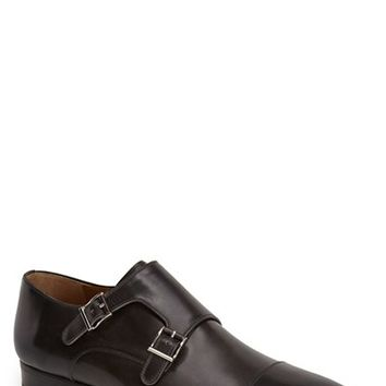 Men's Magnanni 'Arturo' Double Monk Strap Cap Toe Shoe,