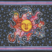 Sleeping Sun Tapestry