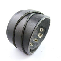 Punk Rock Leather Bracelet Couple Bracelet Women Bracelet Men Leather Bracelet Bracelet Cool Bracelet Mens Bracelet 2578S