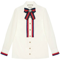 Gucci Cotton Poplin Shirt - Farfetch