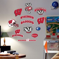 Fathead Junior Wisconsin Badgers