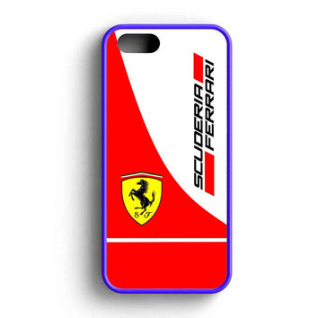 Scuderia Ferrari Logo iPhone 5 Case iPhone 5s Case iPhone 5c Case