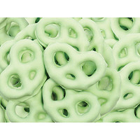 Key Lime Yogurt Covered Mini Pretzels: 1LB Bag