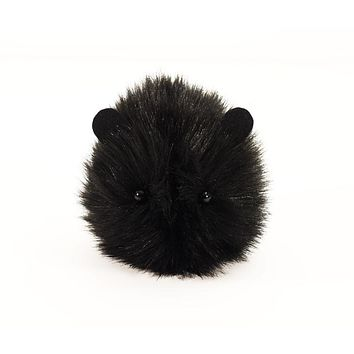 Coal the Black Guinea Pig Stuffed Animal Plush Toy