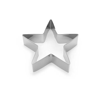 Fox Run 3298 Star Cookie Cutter, 3.5-Inch, Stainless Steel