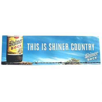 Shiner Country Sign