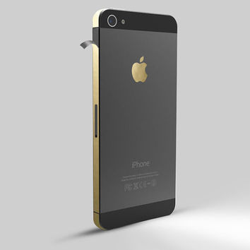 iPhone 5 Gold Wrap