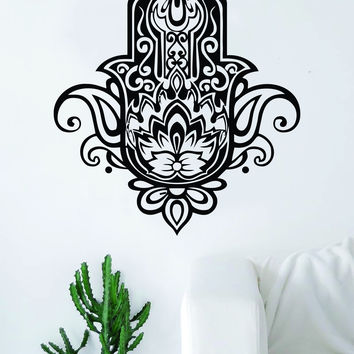 Hamsa Hand V16 Decal Sticker Wall Vinyl Decor Art Living Room Bedroom Yoga Mandala Spirit Namaste Design