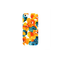 PAINT FLORAL IPHONE CASE