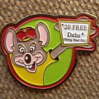 "1-20 ""DABS With Chuck E"" Pins (FREE Shipping)"