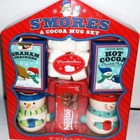 S'mores & Cocoa 2013 Gift Set (inc's Nestle Chocolate and Keebler Graham Crackers)