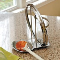 Lid & Spoon Rest, Place to Set your Cooking Spoon and Pot Lid | Solutions