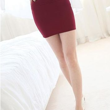 Women's Ultra-Mini Bodycon Skirt
