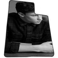 Shawn Mendes man fc8797ce-0548-47c4-8efe-5813851bba2c for Kids Blanket, Fleece Blanket Cute and Awesome Blanket for your bedding, Blanket fleece *AD*